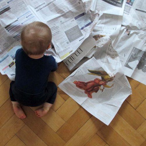 Achtung Käseglocke! – gute Nachrichten für die Elternzeit
