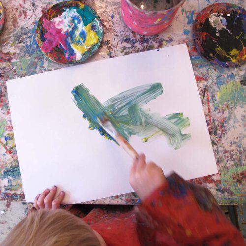 Volle Farbe voraus! – im Münchner Kinderkunsthaus