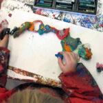 Kinderkunsthaus - Kneten