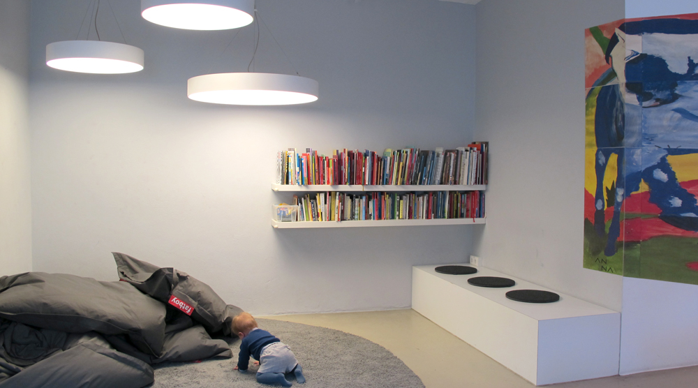 Kinderkunsthaus - Leseecke