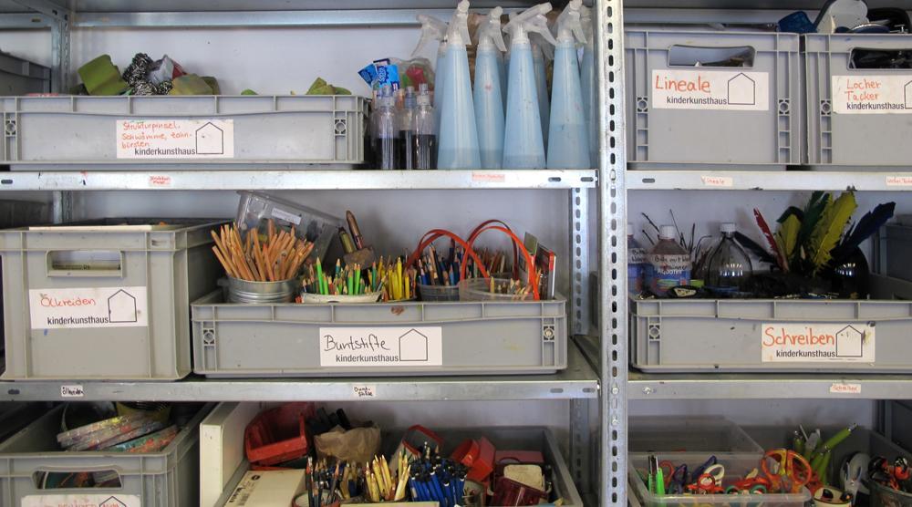 Kinderkunsthaus - Materialien