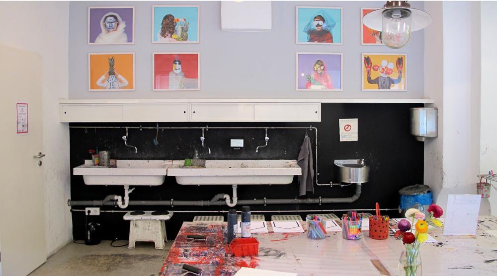 Kinderkunsthaus - Waschbecken