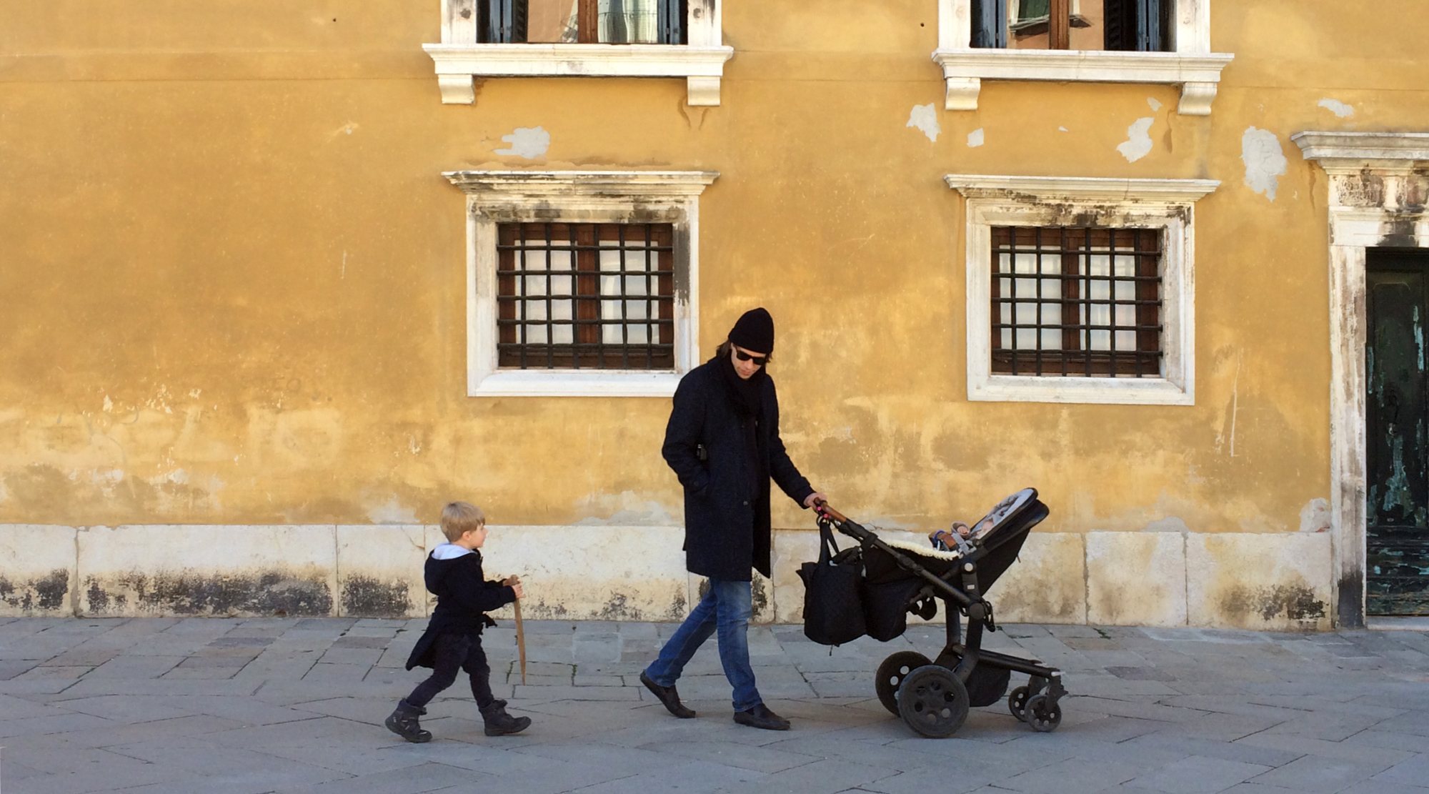 Venedig mit Kindern - Spaziergang