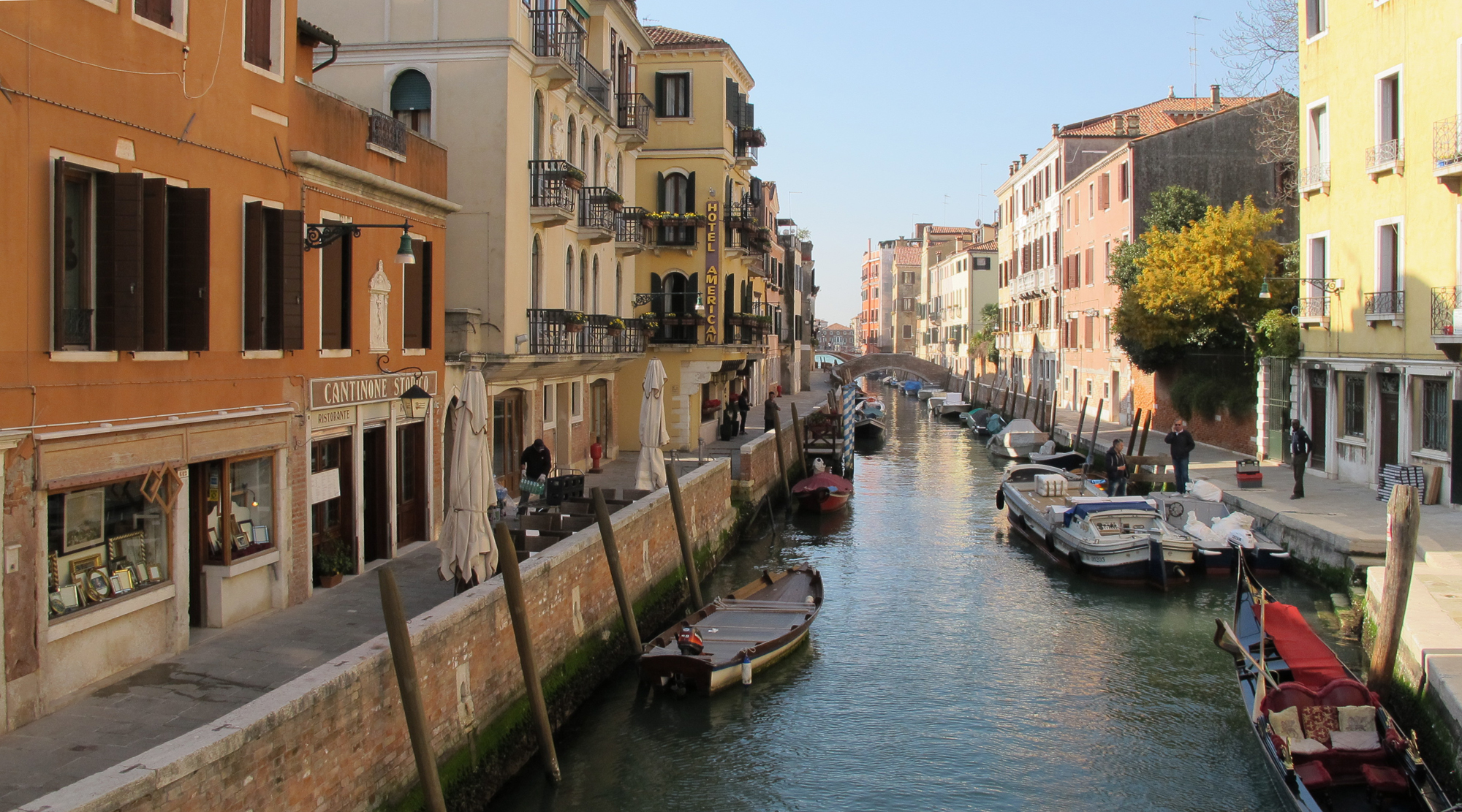 Venedig mit Kindern - Canareggio