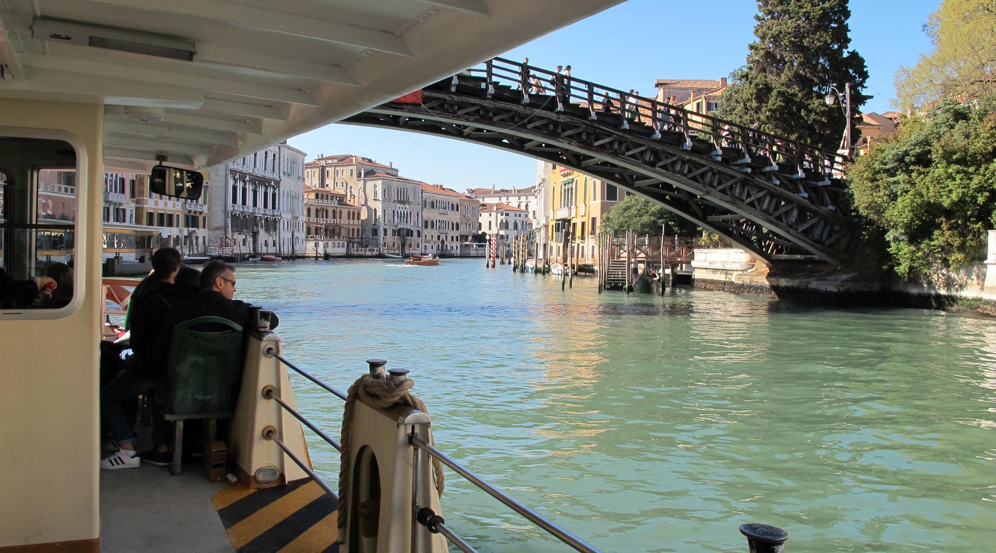 Venedig mit Kindern - Vaporetto