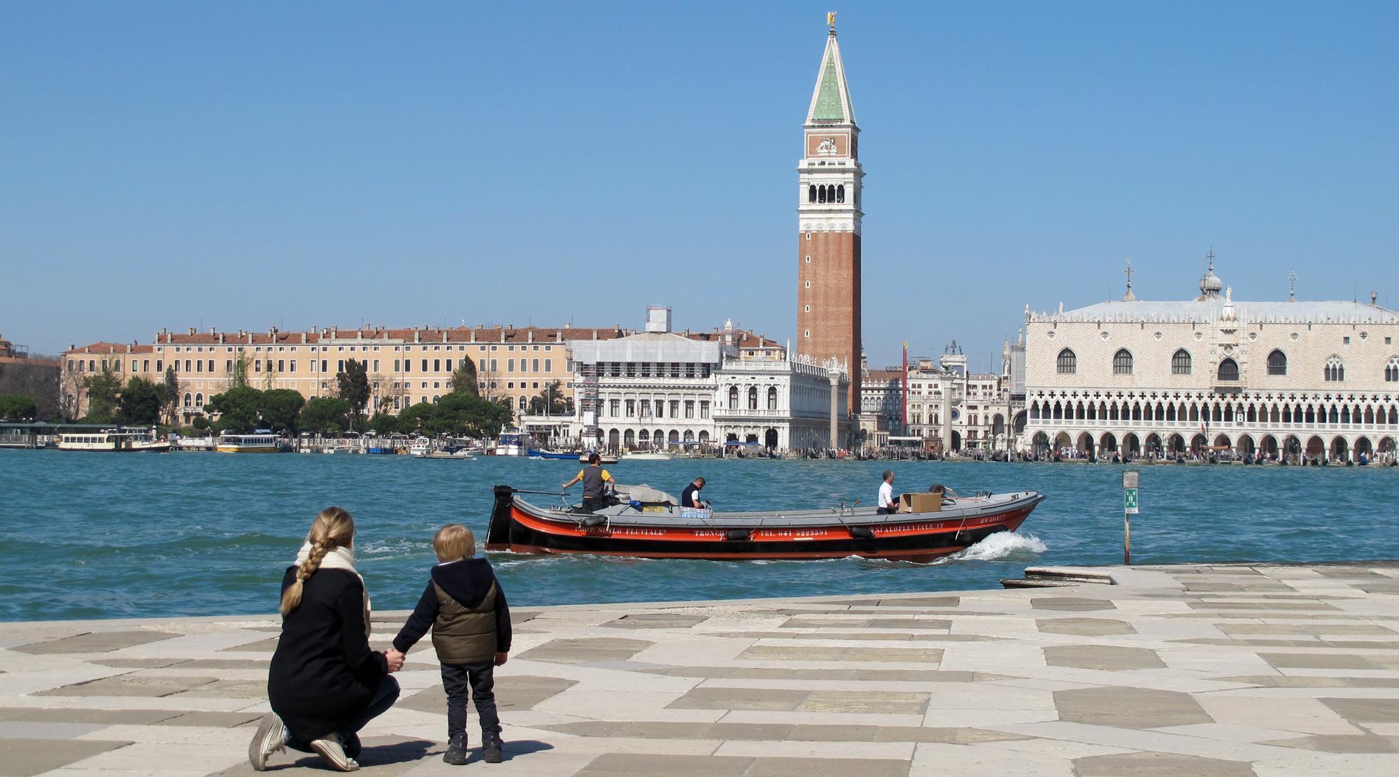 Venedig mit Kindern - Gesamtblick