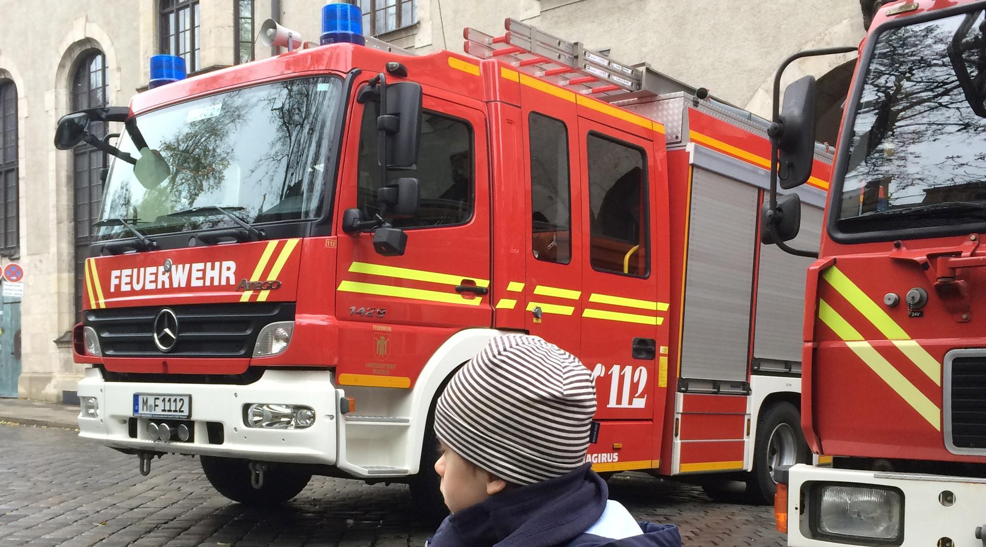 Museen für Jungs - Feuerwehrautos