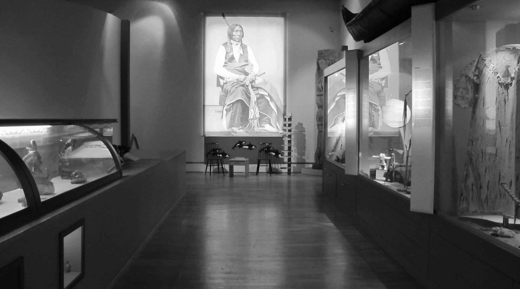 Museen für Jungs - Indianer Halle