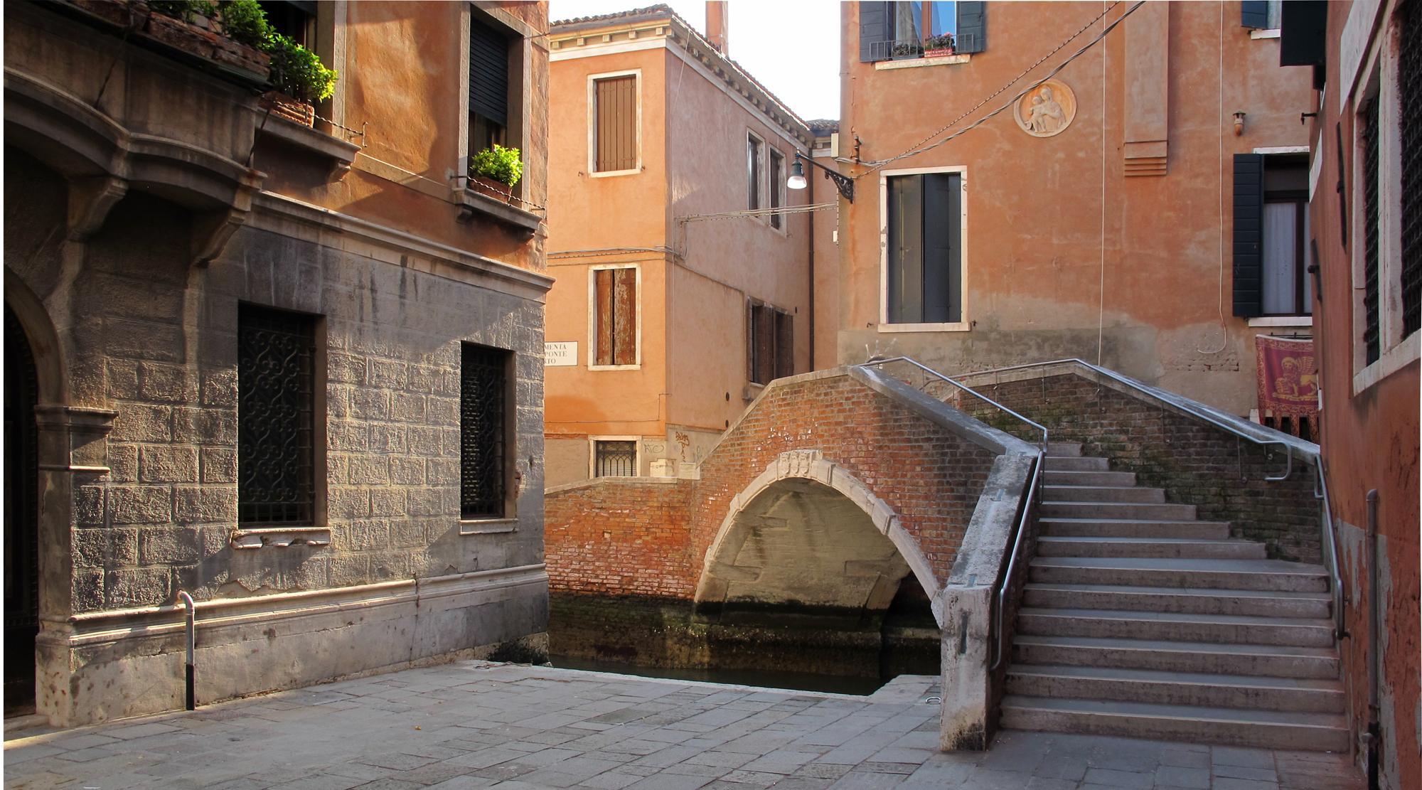 Venedig mit Kindern - Treppen