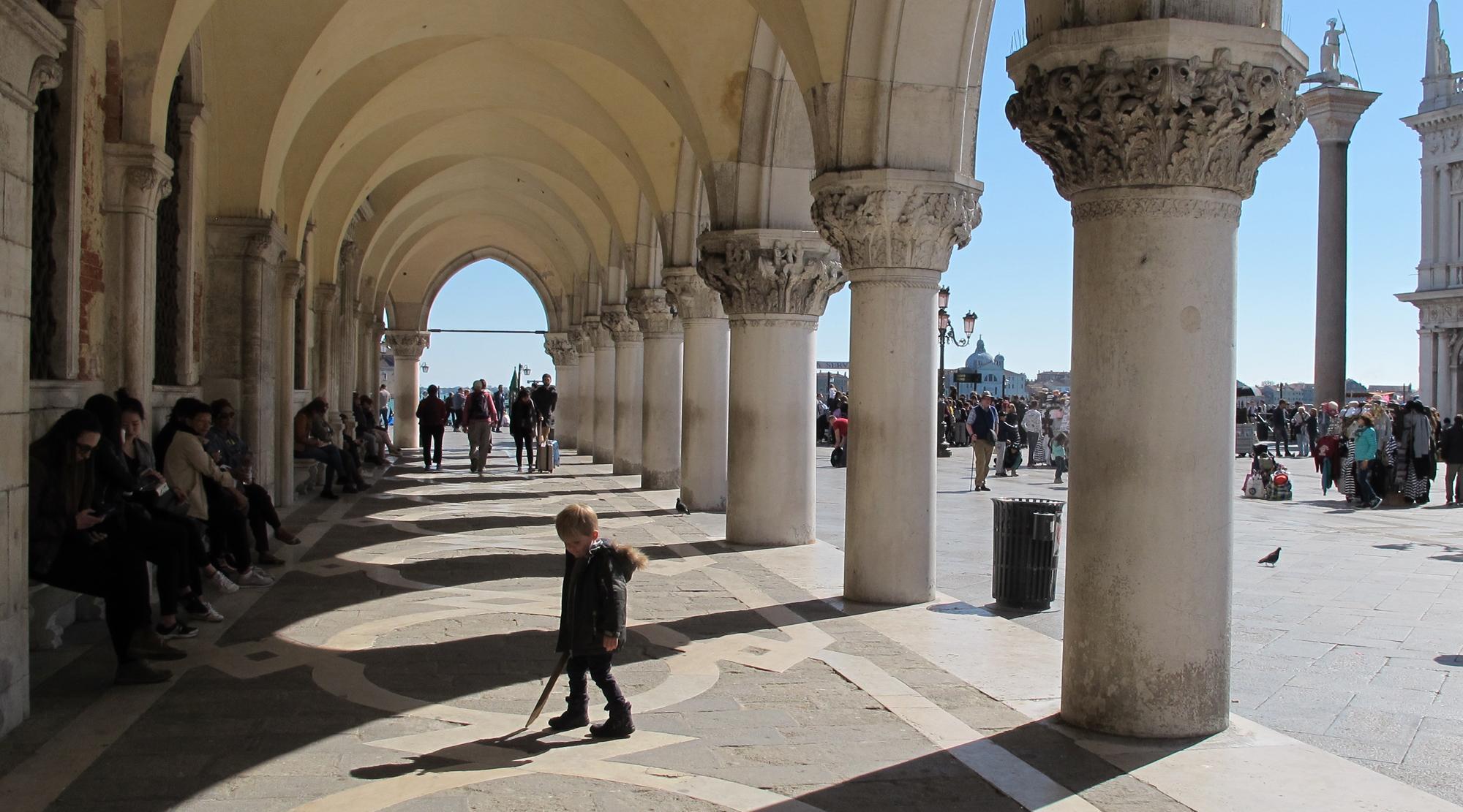 Venedig mit Kindern - Ducale