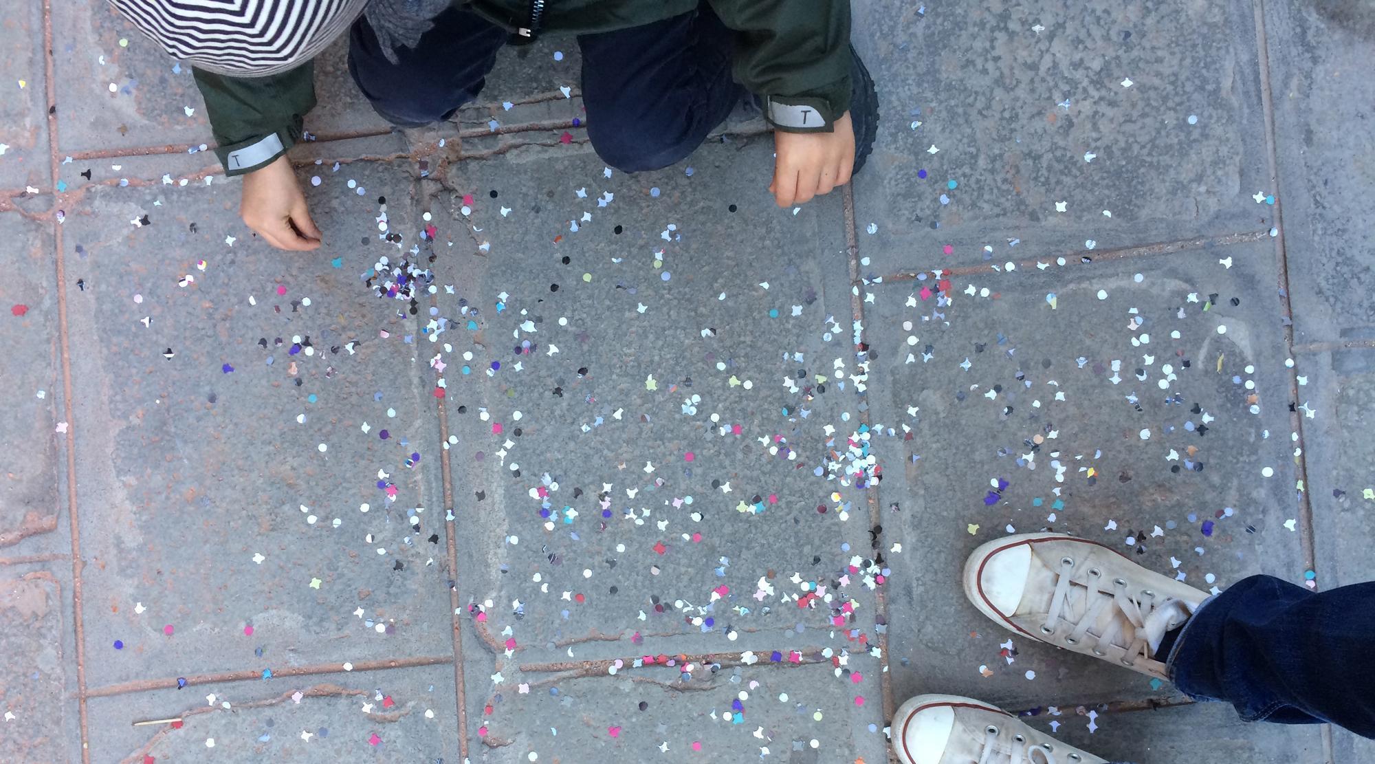 Venedig mit Kindern - Konfetti