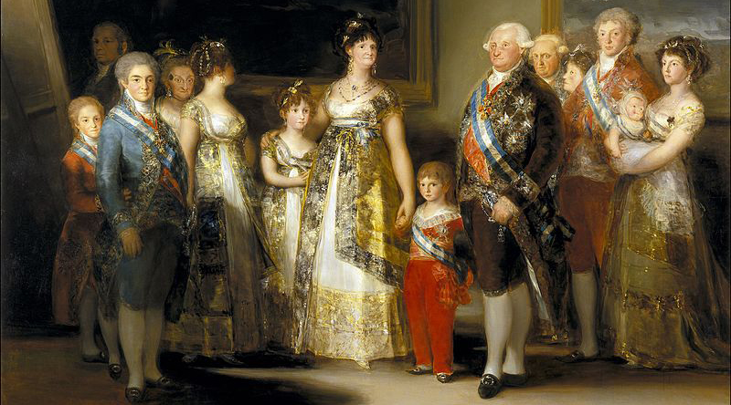 Royal Wedding Picture - Royal Family, Goya