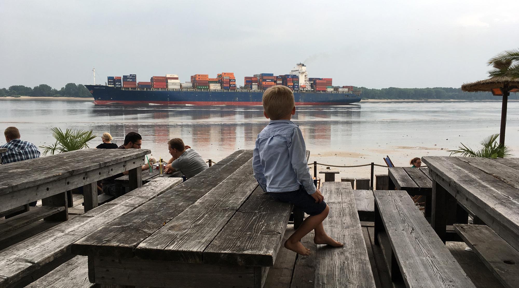 Piraten Hamburg - Containerschiff