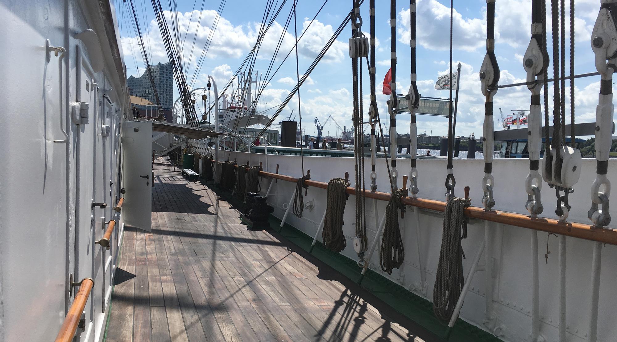 Piraten Hamburg - Rickmer Rickmers