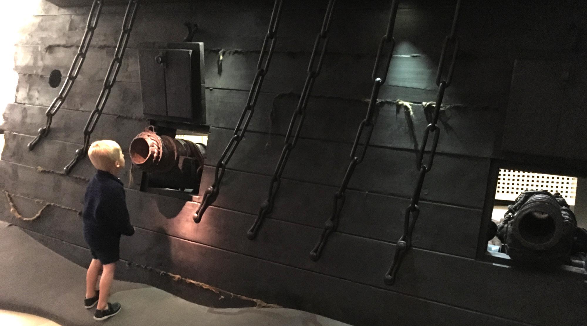 Piraten Hamburg - Kanonen