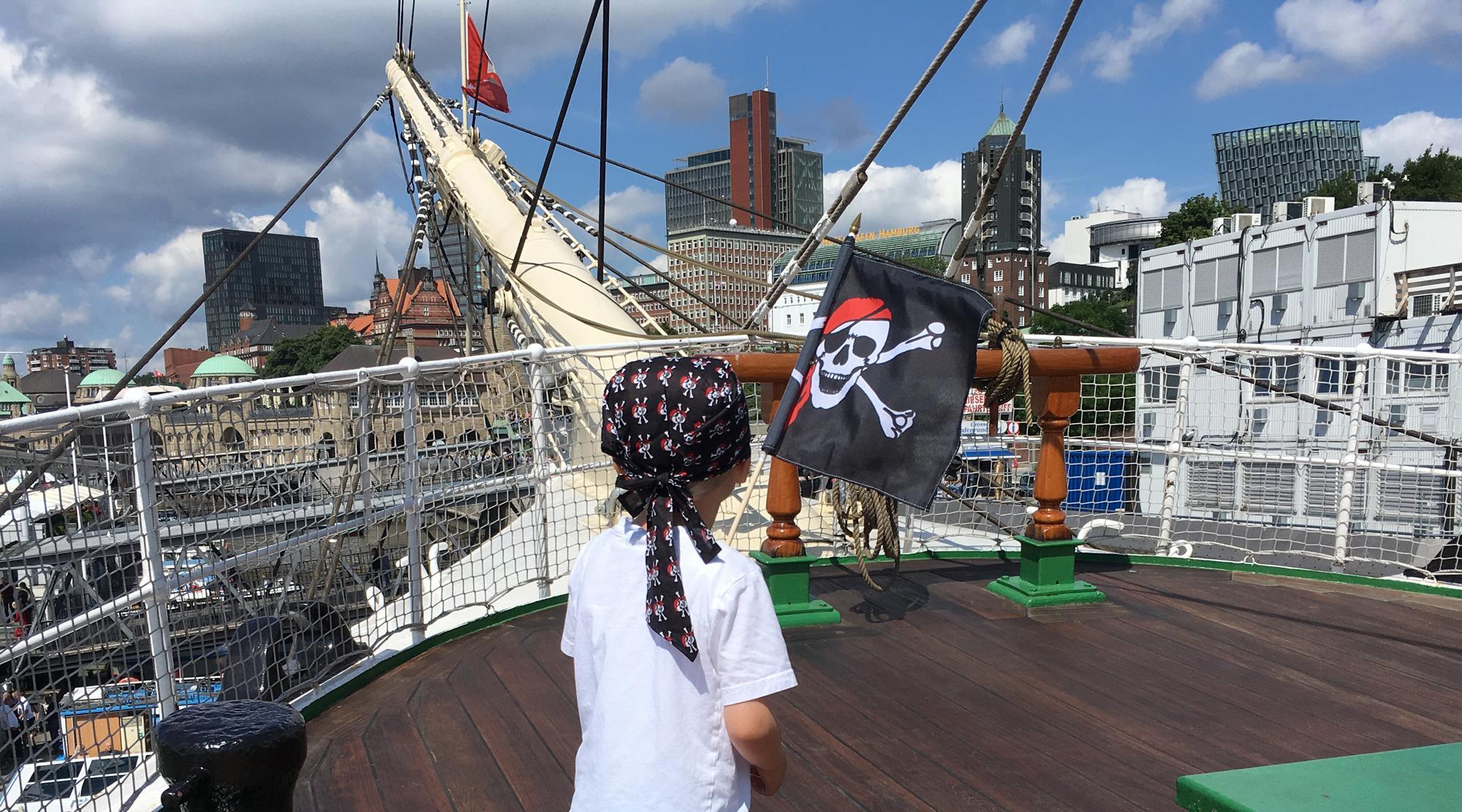 Piraten Hamburg - Piratenkostüm