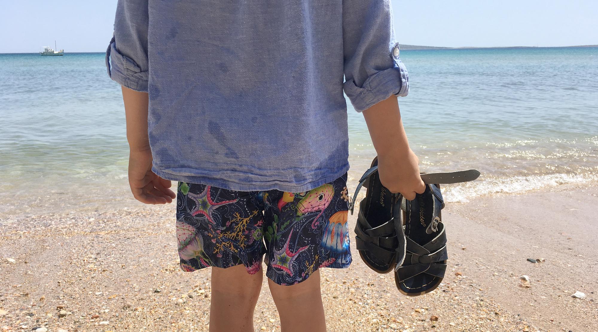 Sommerschuhe für Jungs - Sandalen Meer