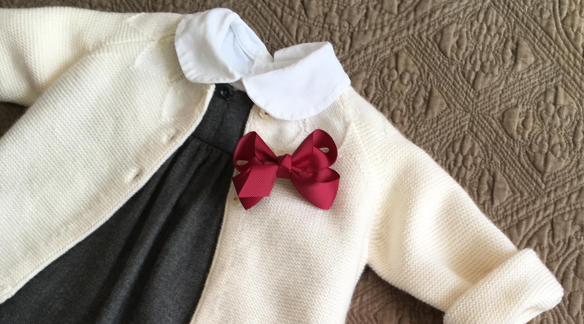 Haarschleifen - Detail Outfit