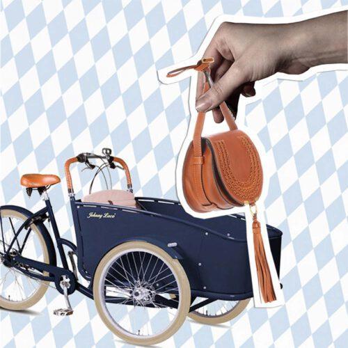 Münchner Doppel – Lastenrad & Saddle-Bag