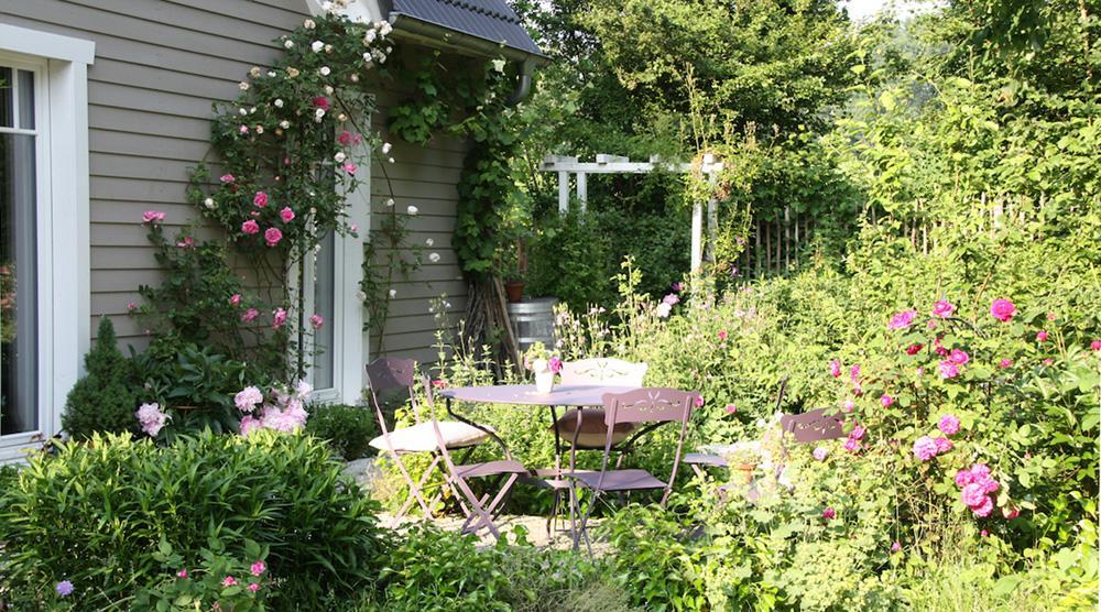 Cottage Garten - Terrasse