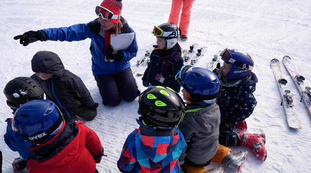 Skikurs - Skilehrer