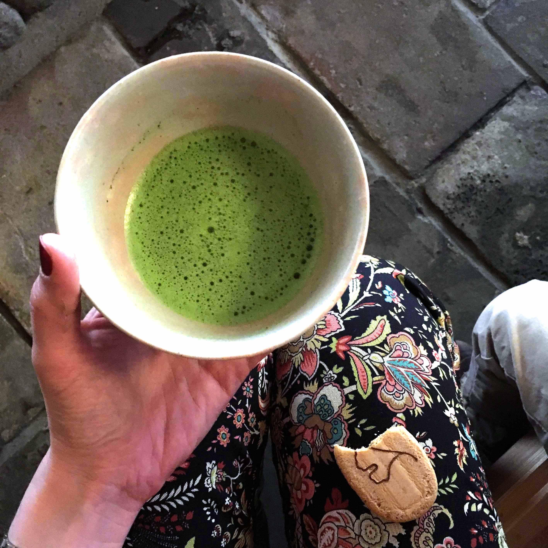 Japanische Teatime - Teezeremonie Gruentee