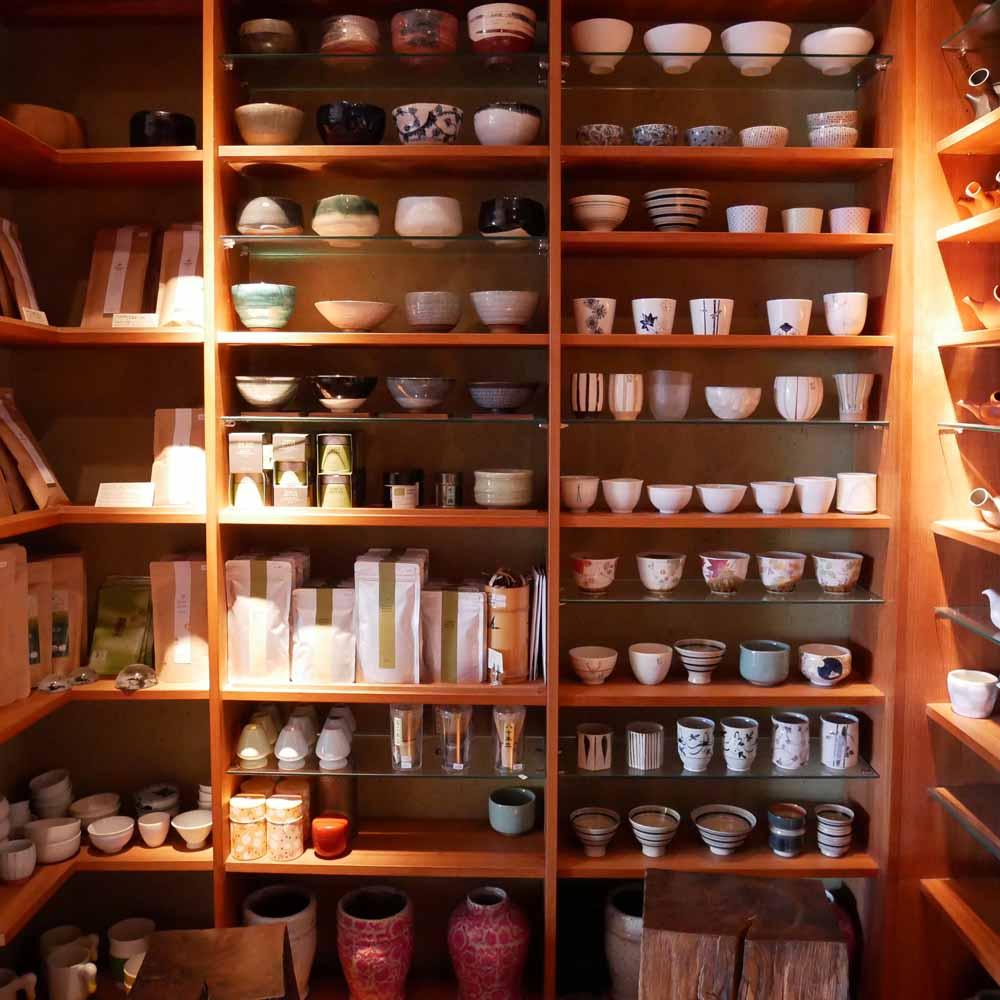 Japanische Teatime - Tushita Teehaus Shop