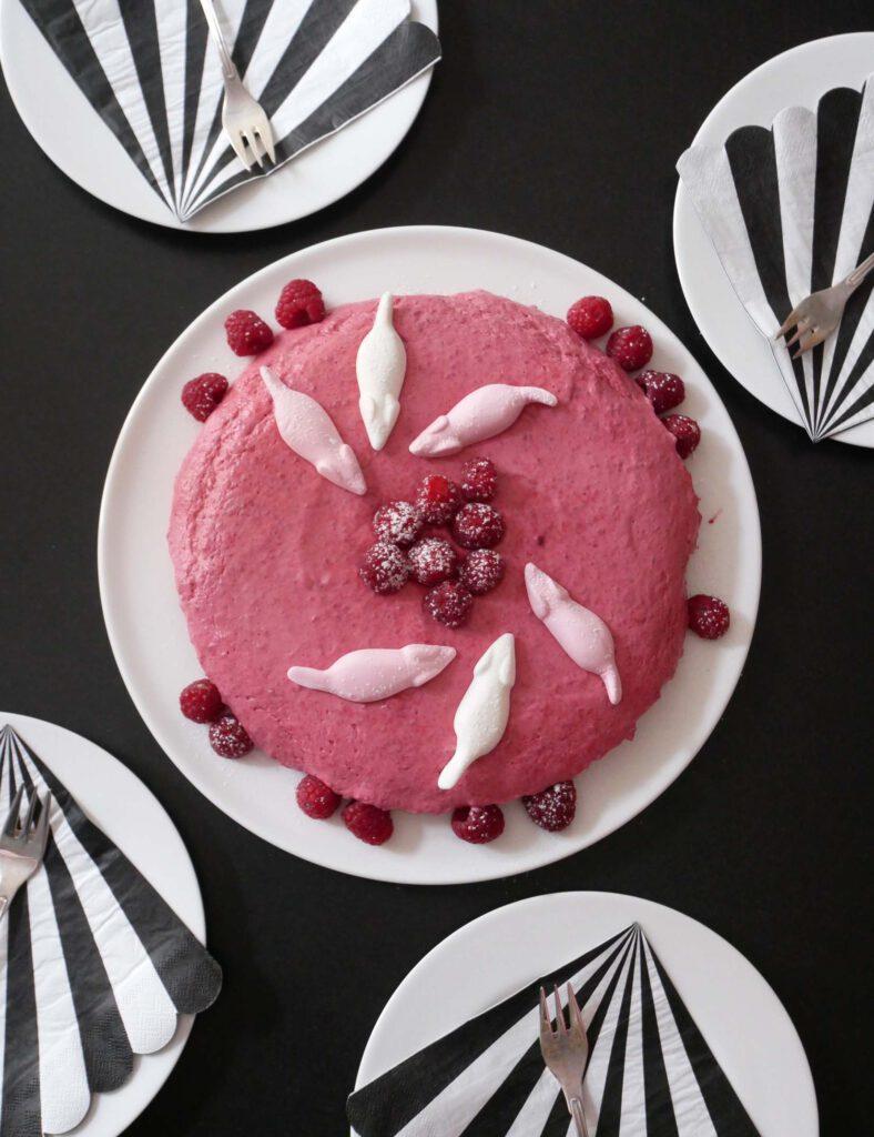 Katzenparty - Torte