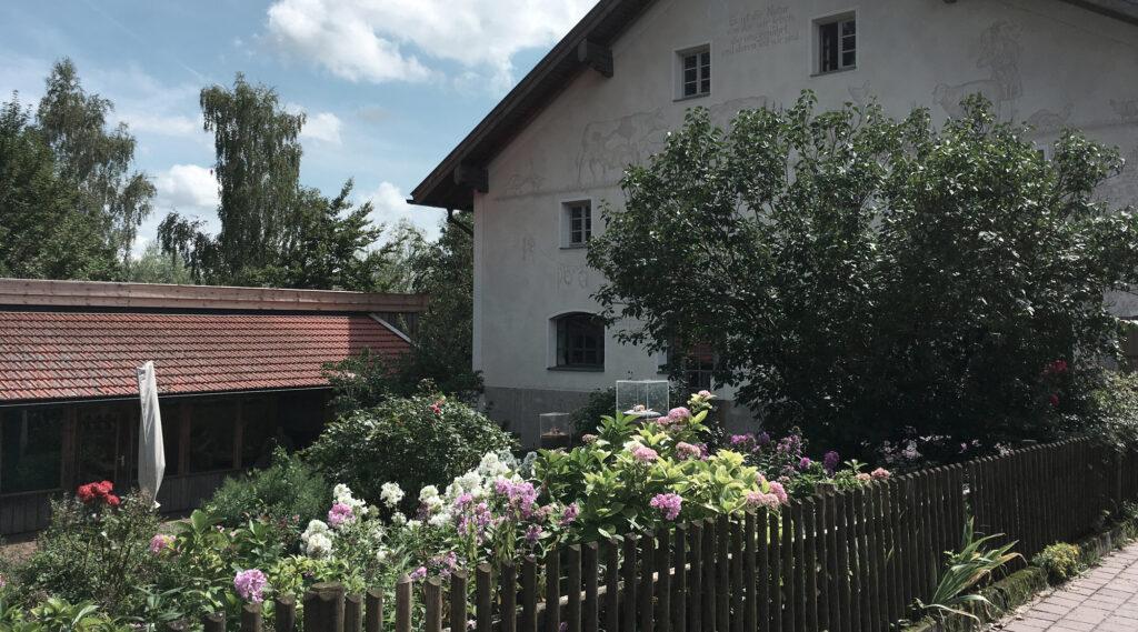Bauernhof Hermannsdorfer - Garten