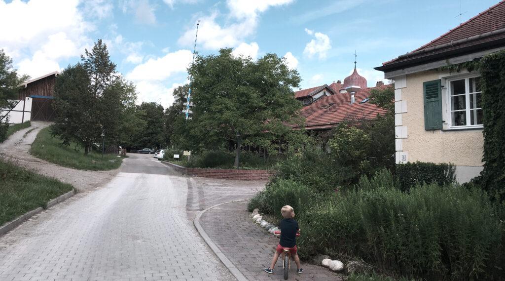 Bauernhof Hermannsdorfer - Auffahrt