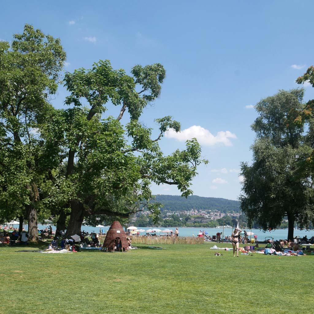 Zürich mit Kindern - Strandbad