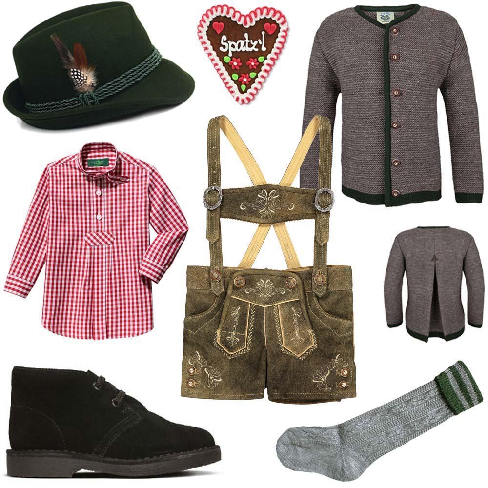 Trachten für Jungen - Lederhosen und Trachtenhemd