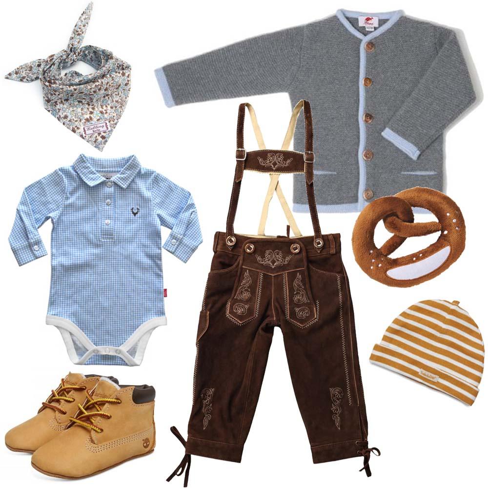 Trachten für Jungen - erstes Wiesn-Outfit