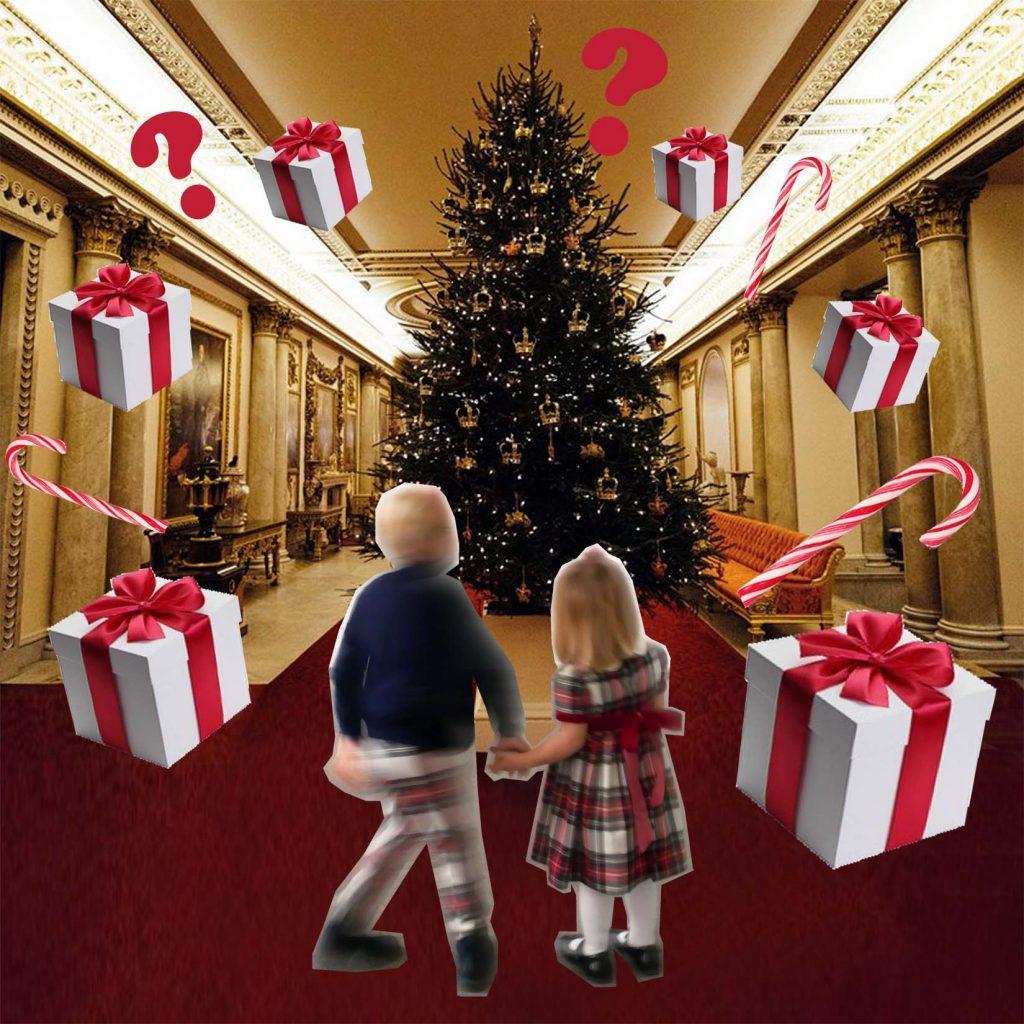 Weihnachtsgeschenke mit royalem Twist - Christbaum