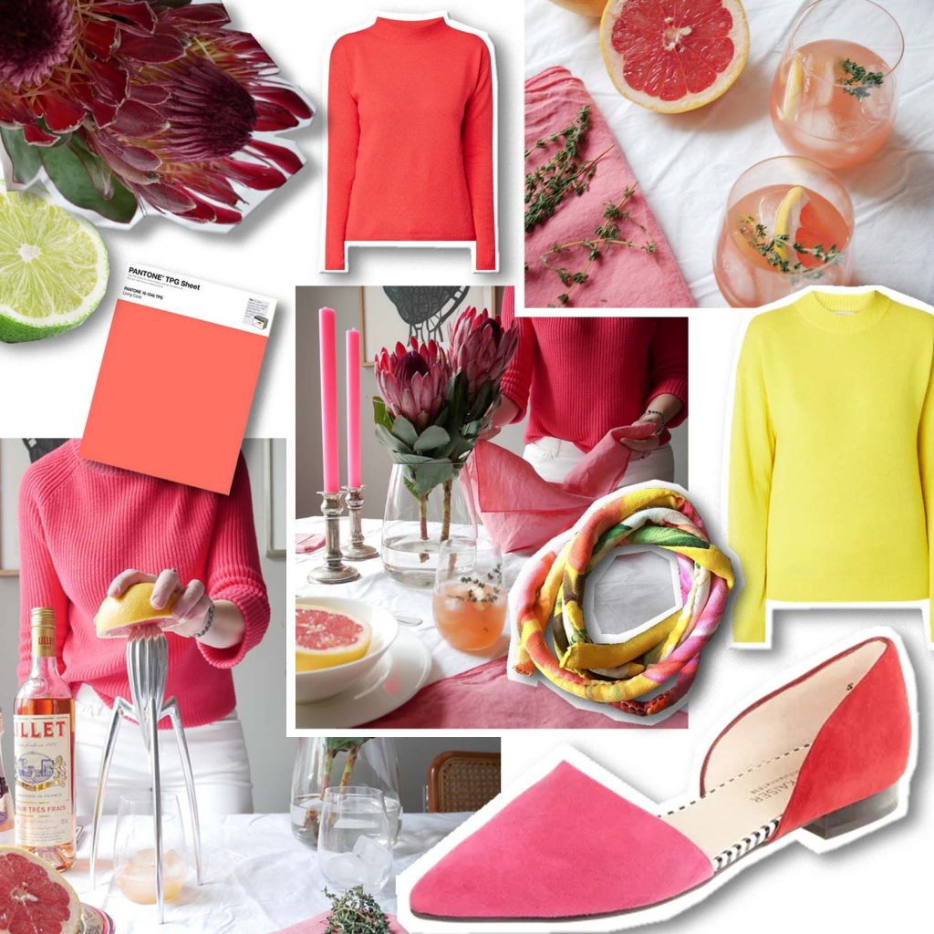 Coral & Citrus - Lieblinge Collage