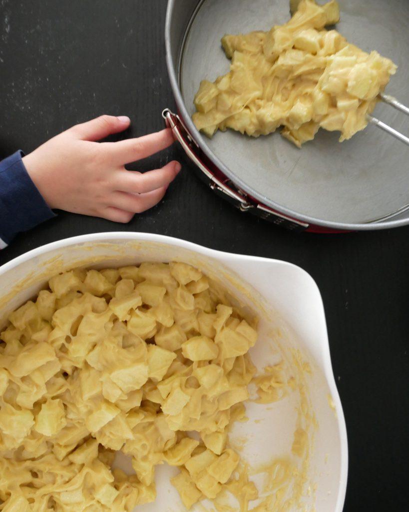 Franzoesischer Apfelkuchen - Teig